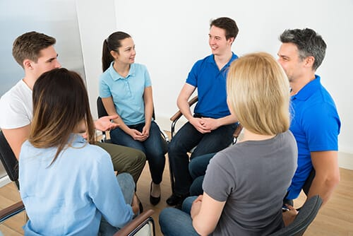 Group therapy at Steps to Recovery encourages good recovery.